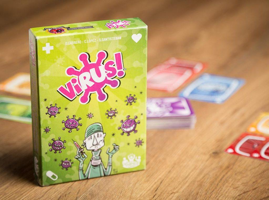 Virus divertido juego de cartas