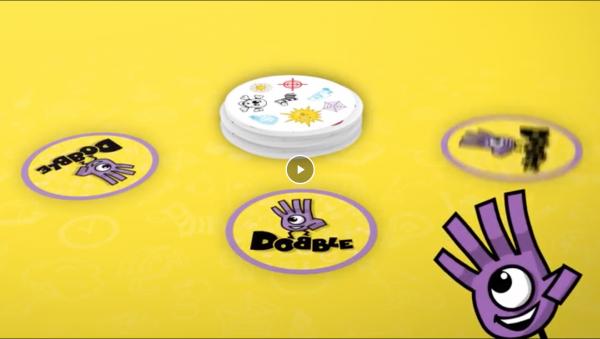 Dobble juego de cartas de mesa