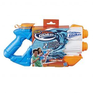 Pistola de agua de dos chorros Nerf