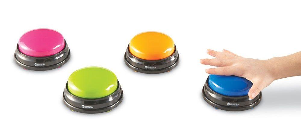 Pulsadores juguetes para niños con discapacidad motora