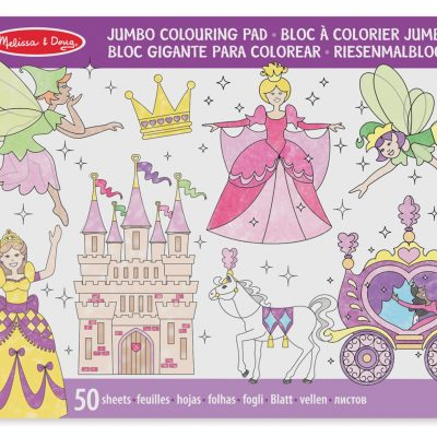 Melissa & Doug juego de princesas para colorear