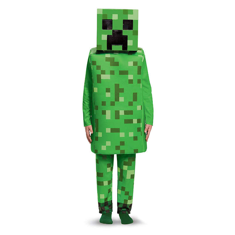 Disfraz Creeper Minecraft
