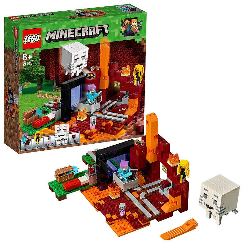 Lego Minecraft portal al infierno